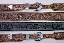 Belts and Bags - Edge Finish